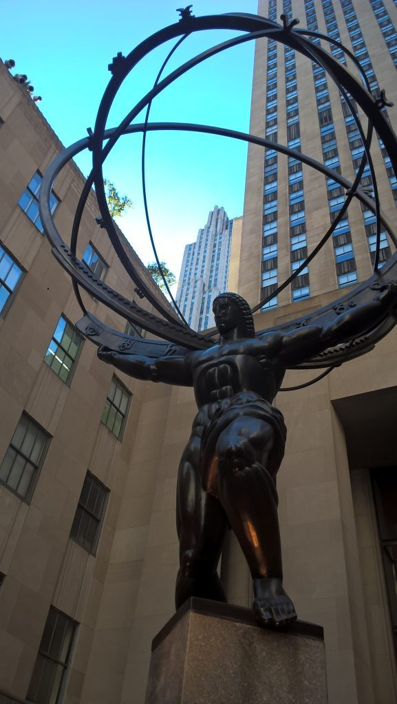 atlas statue, new york, ny
