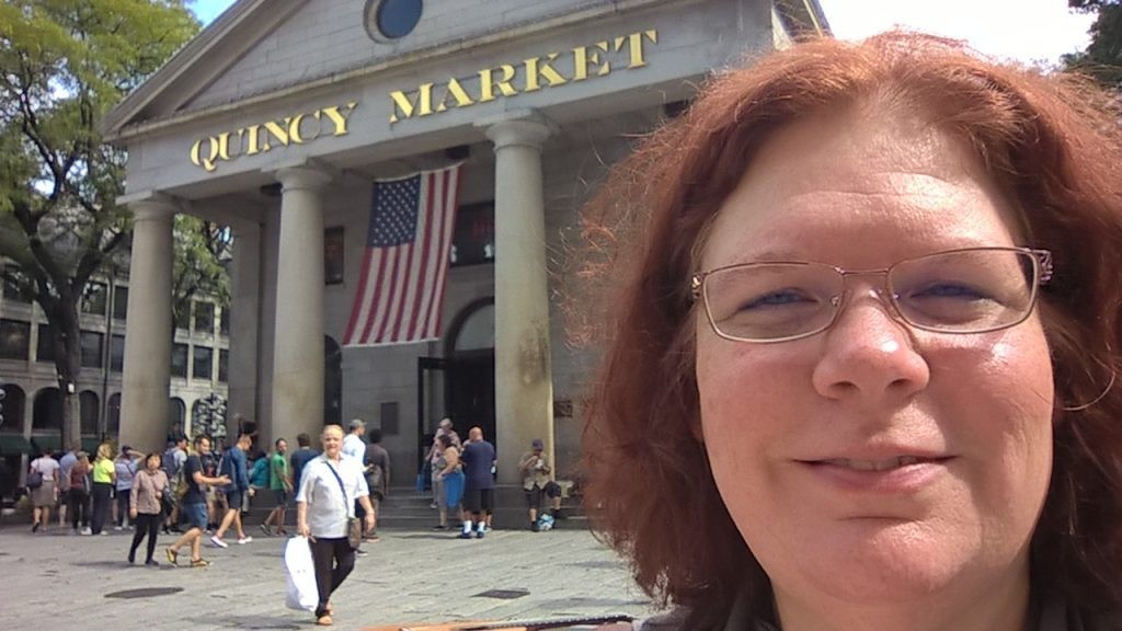 quincy market fanneuil hall boston, ma