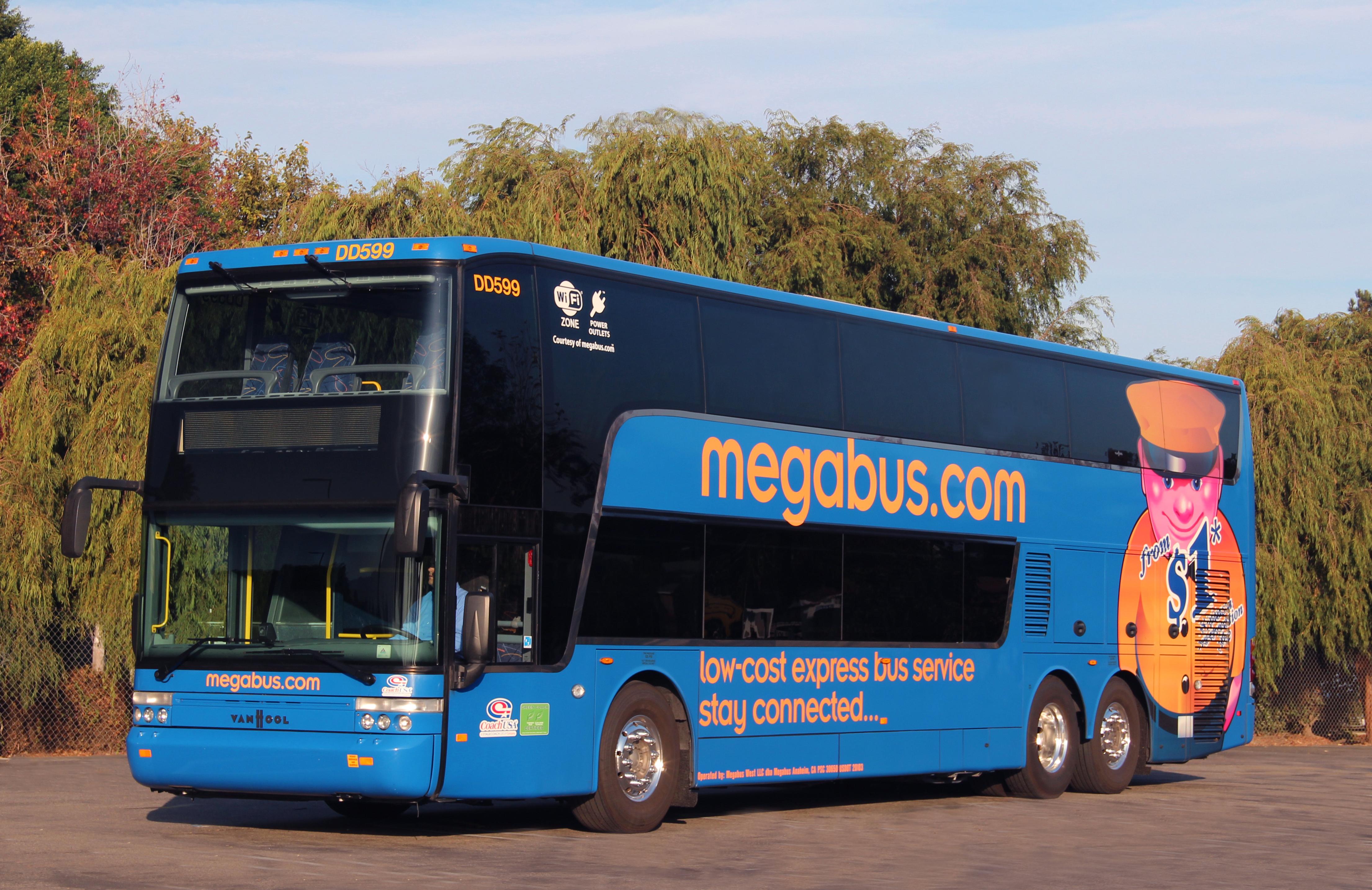 megabus low cost budget travel